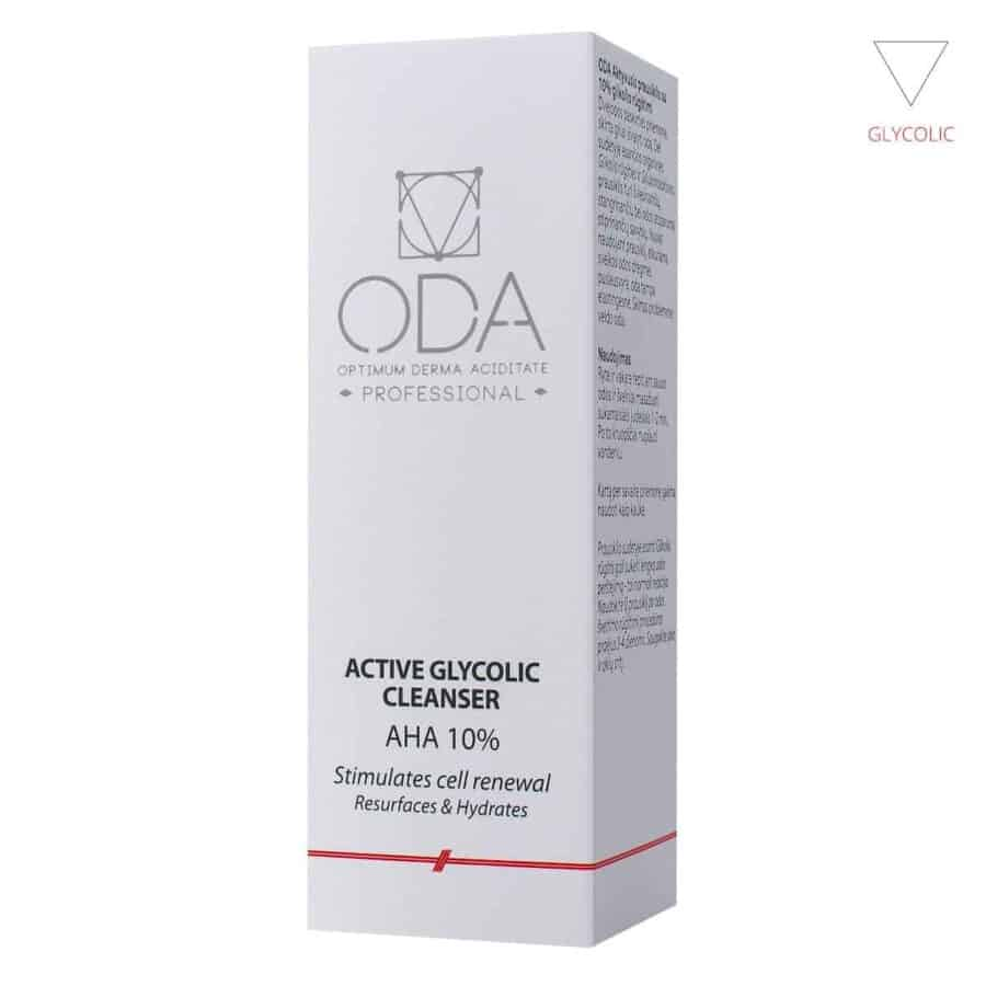 Active glycolic cleanser 10% – 200ml
