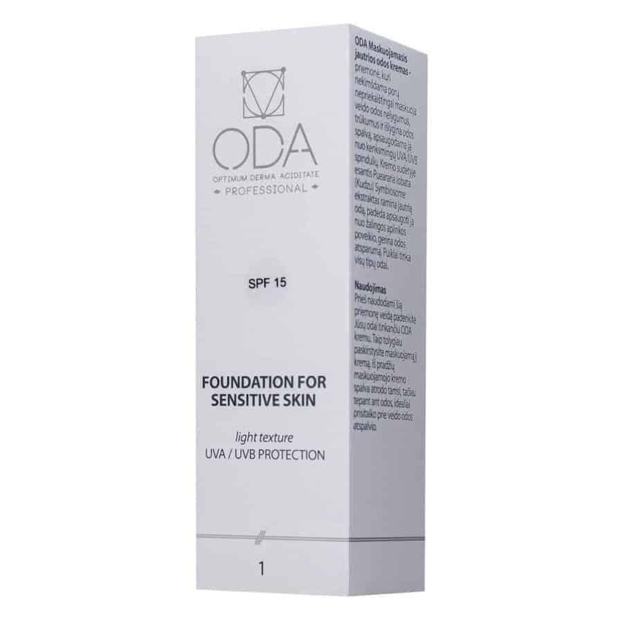 Foundation for sensitive skin Nr1 – 30ml