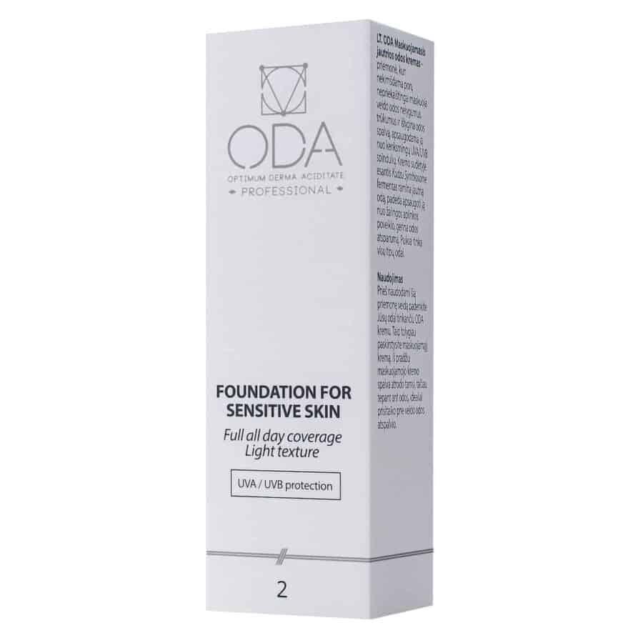 Foundation for sensitive skin Nr2 – 30ml