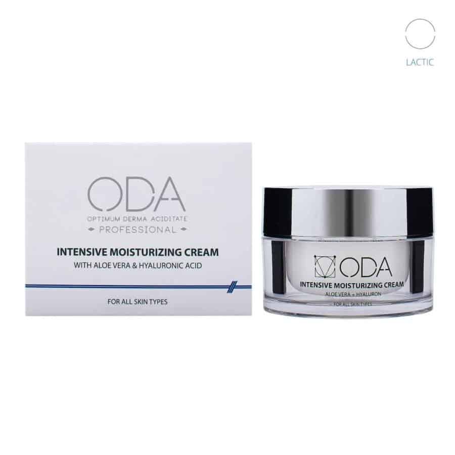 Intensive Moisturizing Cream With Aloe Vera & Hyaluron 2