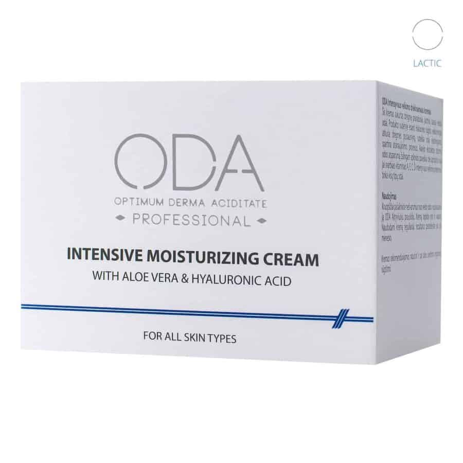 Intensive Moisturizing Cream With Aloe Vera & Hyaluron 3
