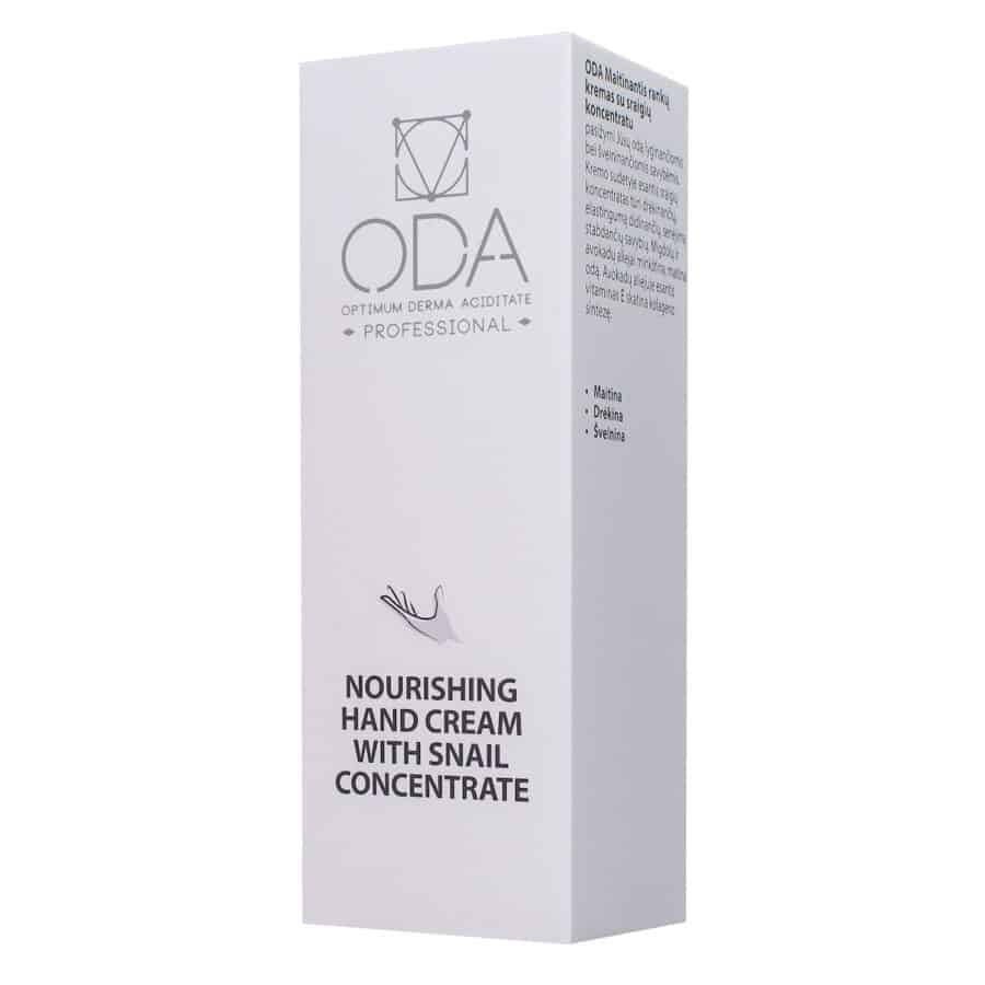 Nourishing hand cream with snail concentrate 50ml