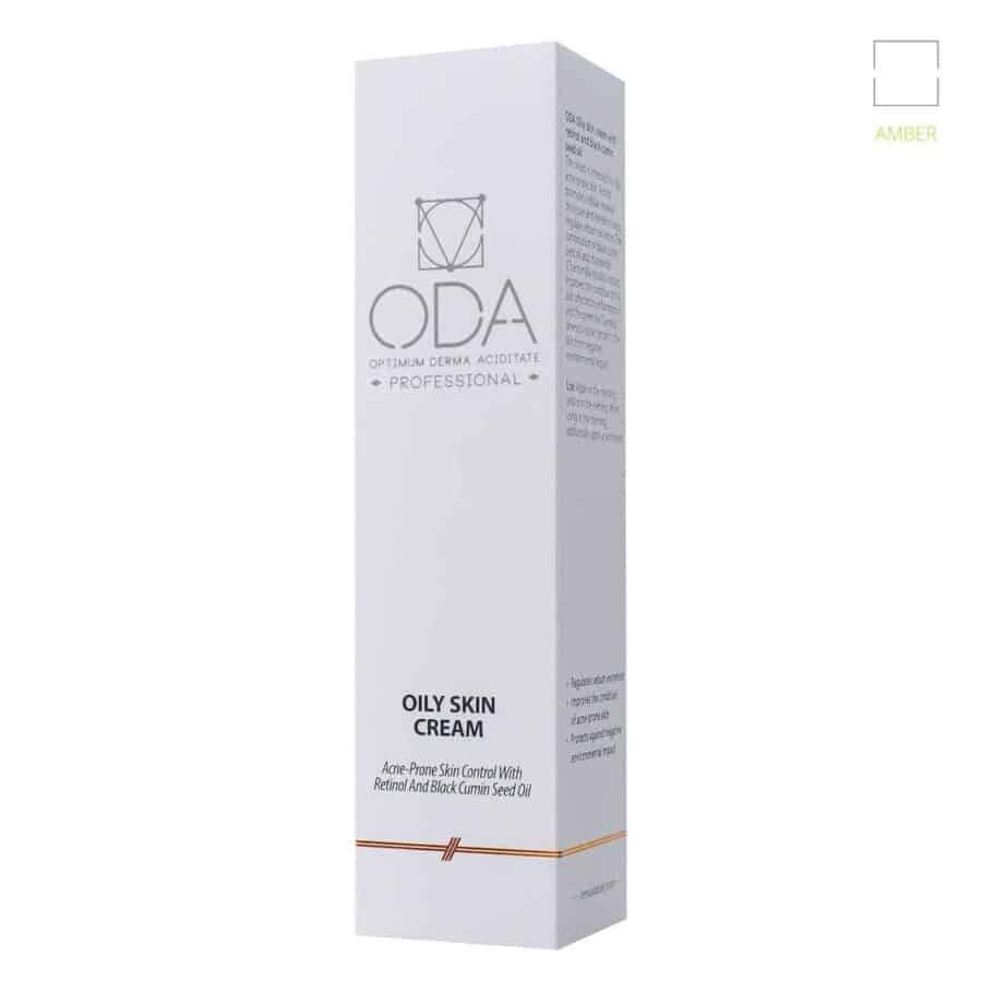 Oily skin cream with retinol & black cumin seed oil – 50ml