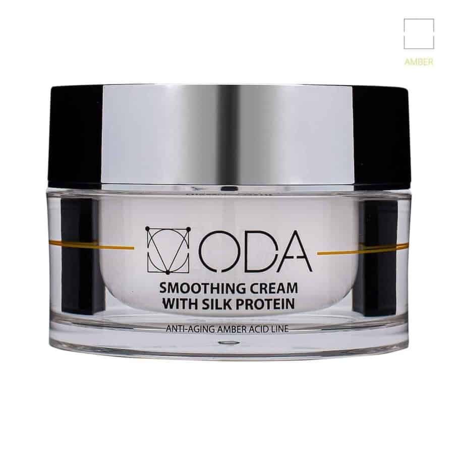 Smoothing cream with silk protein – 50ml