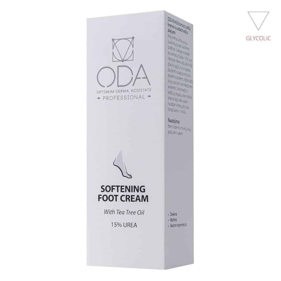 Softening foot cream with tea tree oil – 50ml